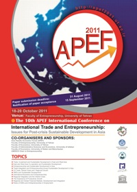 poster of APEF2011